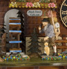 86206T  Hones 8 Day Clock Maker Cuckoo Clock