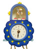 5202-5 Blue Wall Clock from Wendt and Kuhn