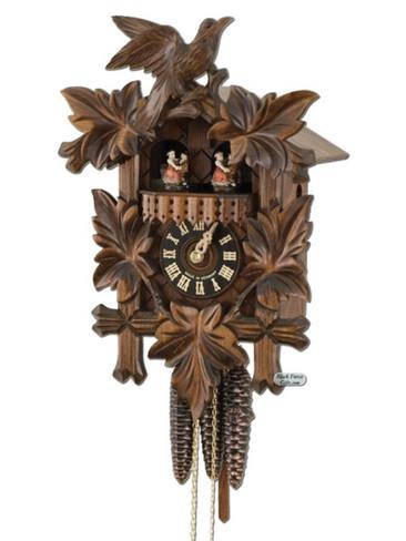 600-3TNU Carved Musical 1 Day Cuckoo Clock