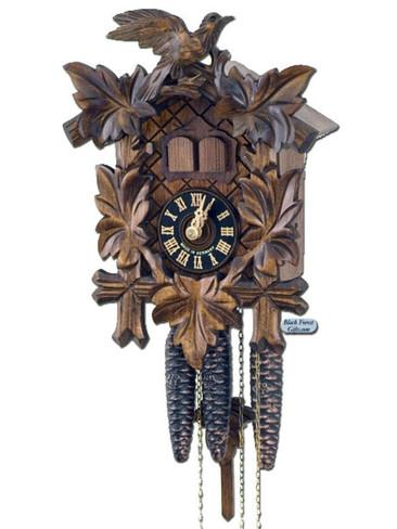 600-2ENU Carved Musical 1 Day Cuckoo Clock