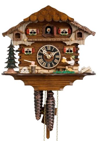 164 Beer Drinker Chalet 1 Day Cuckoo Clock
