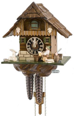 1268 Beer Drinker Chalet 1 Day Cuckoo Clock
