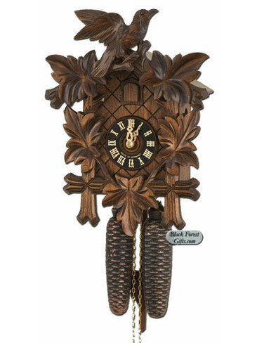 800-3NU Hones Carved 8 Day Cuckoo Clock
