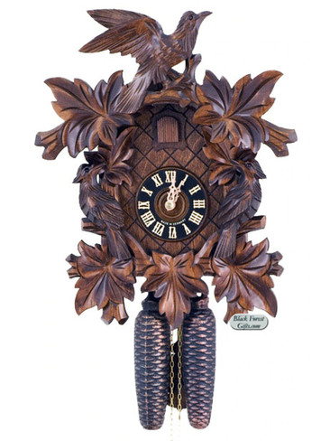 801-4NU Hones Carved 8 Day Cuckoo Clock