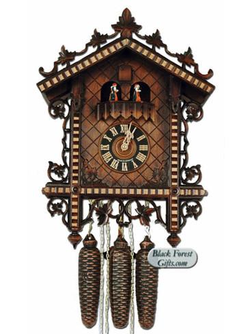 86228-5T Hones 8 Day Station House Musical Cuckoo Clocks