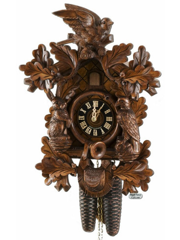 8277-4 Hones 8 Day Carved Cuckoo Clock