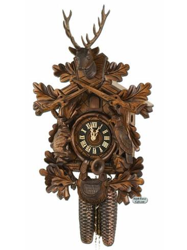 834-5NU Hones 8 Day Hunters Cuckoo Clock