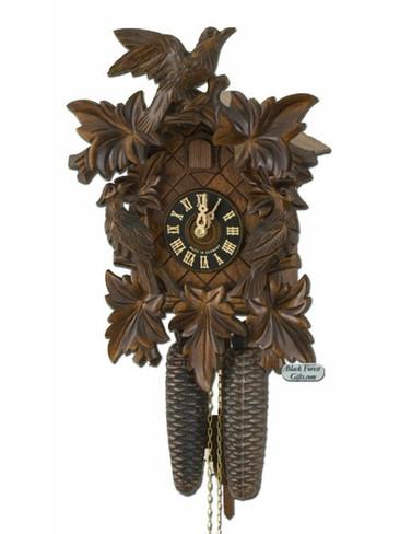 801-3NU Hones Carved 8 Day Cuckoo Clock
