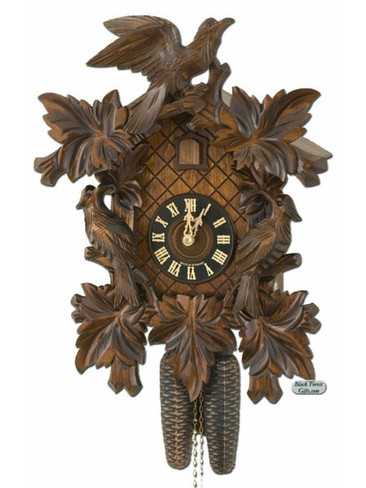 801-5NU Hones 8 Day Carved Cuckoo Clock