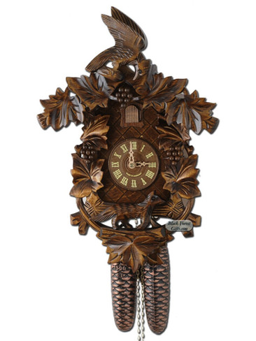 938-8 8 Day Fox and Grapes Cuckoo Clock