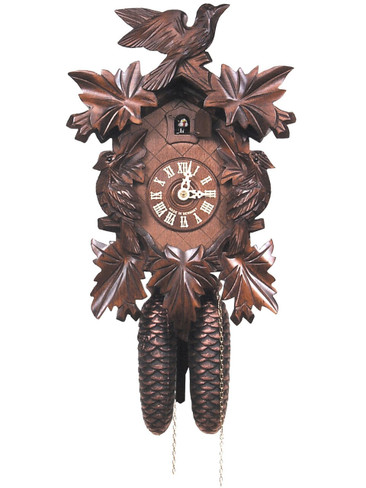 200-8-14BF 8 Day Carved Black Forest Cuckoo Clock