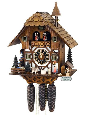 86294T Hones 8 Day Bell Ringer Cuckoo Clock