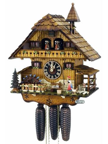 8677T Hones 8 Day Bell Ringer Cuckoo Clock