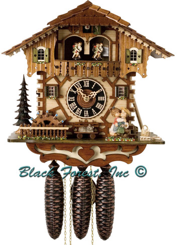 86205T Hones 8 Day Kissing Cuckoo Clock