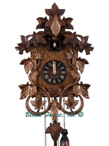 535QM Quartz Carved Musical German Cuckoo Clock