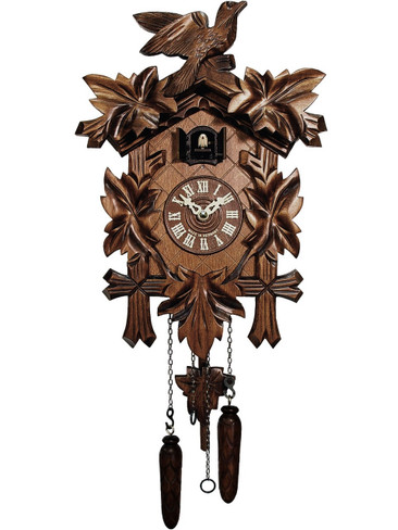 532-QM-MG Quartz Carved Musical Cuckoo Clock
