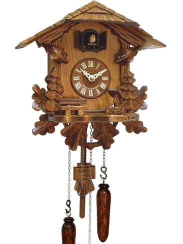 436QM-MG Quartz Carved Musical Cuckoo Clock