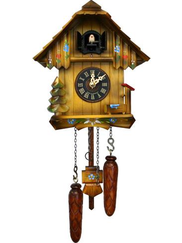 420QM-MG Quartz Cottage Musical Cuckoo Clock