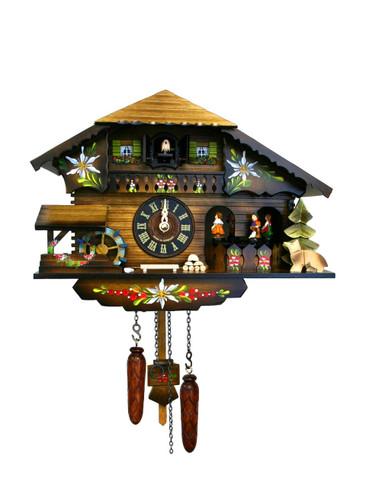 400QMT-MG Quartz Music and Dancers Cuckoo Clock