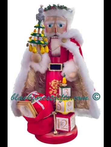 S1941 Steinbach 12 Days of Christmas Nutcracker