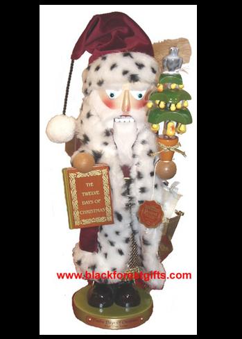 ES1881 Steinbach Pear Tree Santa Nutcracker