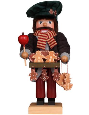 0-385 Ulbricht Gingerbread Seller Nutcracker
