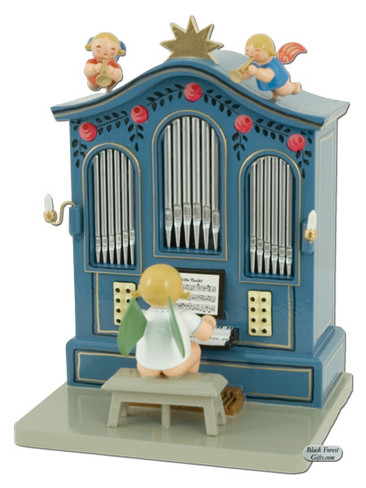 636-orm Wendt and Kuhn Angel at Organ with Music