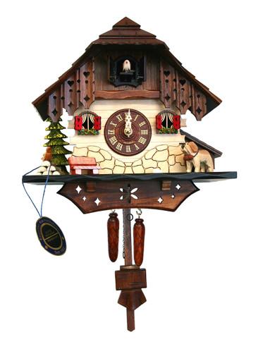 BF304BS Quartz Chalet Cuckoo Clock