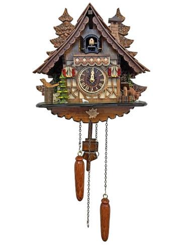 BF904B Quartz Chalet Cuckoo Clock