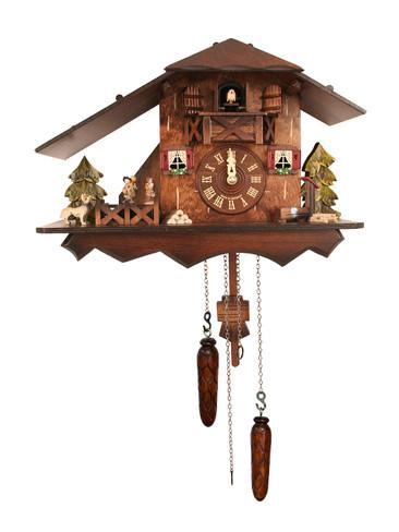 BF824BSD Quartz Chalet Cuckoo Clock