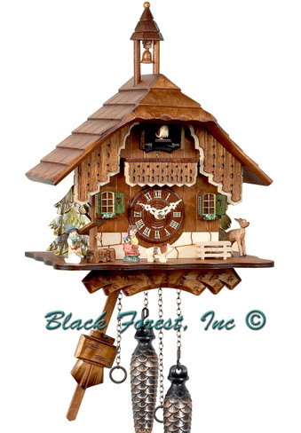 BF924B Quartz Chalet Cuckoo Clock