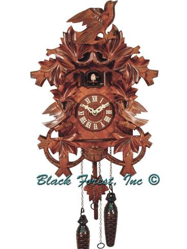 BF536BS Quartz Carved Cuckoo Clock
