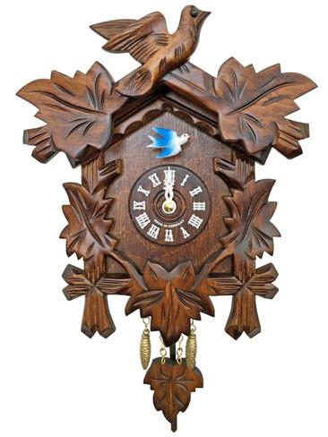 0825 Quartz Carved with Sound Miniature Clock