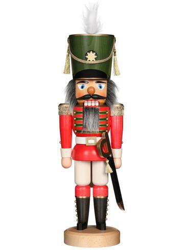 32-530 Ulbricht Red Soldier Nutcracker