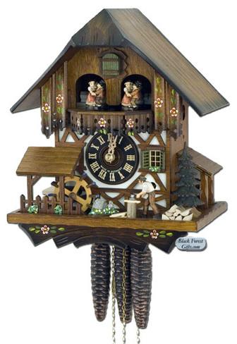 678T Wood Chopper 1 Day Cuckoo Clock