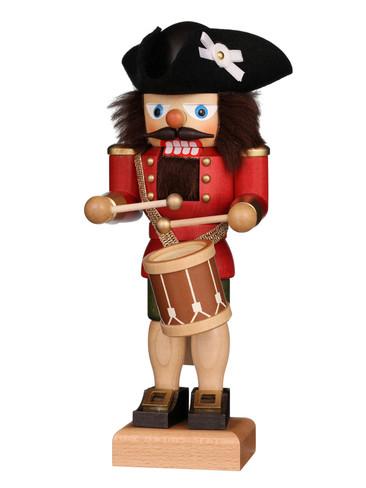 32-662 Ulbricht Red Drummer Nutcracker
