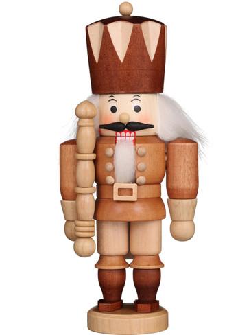 32-618 Ulbricht Mini Natural King Nutcracker