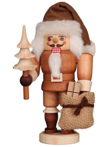 32-603 Ulbricht Mini Natural Santa Nutcracker
