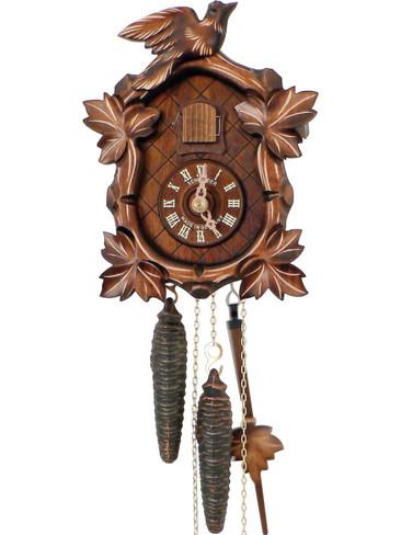 40-9 Anton Schneider Oval Face 1 Bird 1 Day Cuckoo Clock