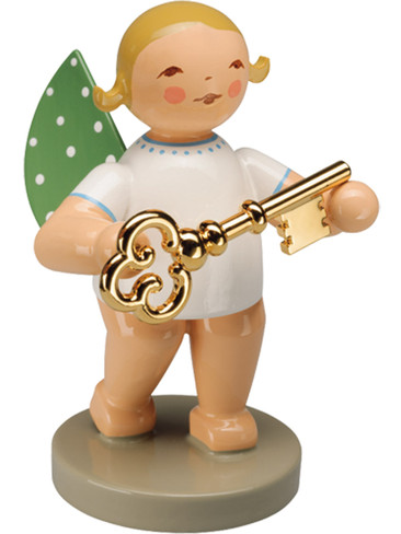 650-121 Wendt and Kuhn 2015 Angel with Gold Plated Key