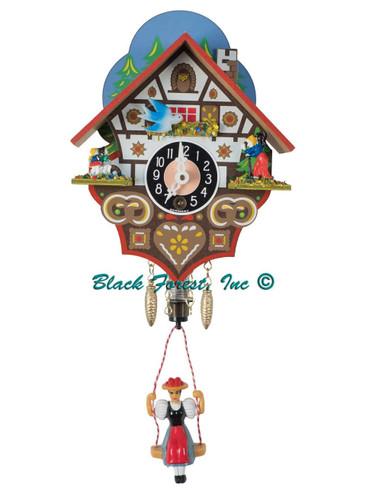 192SP Key Wind Miniature German Clock Hansel and Gretel