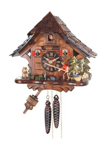 BF9294 One Day Fisherman Cuckoo Clock