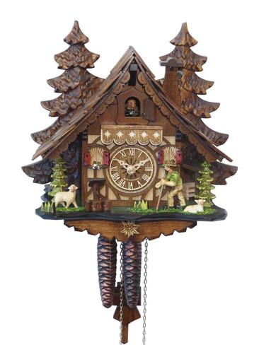 40912 Happy Wanderer Chalet 1 Day Cuckoo Clock
