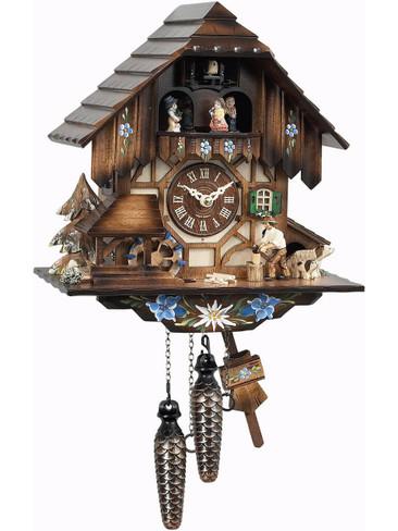 463MT Musical Wood Chopper Cuckoo Clock