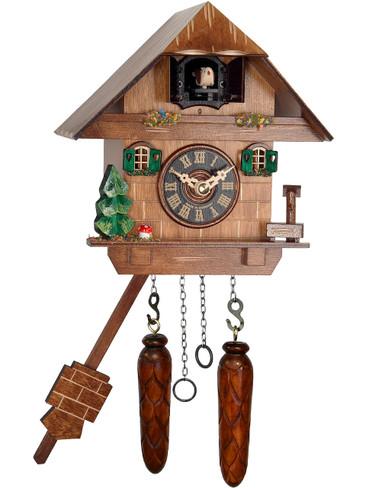 417Q Quartz Chalet Cuckoo Clock