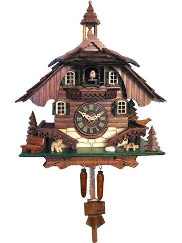 444QM Quartz Chalet Cuckoo Clock
