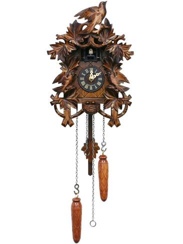 625Q Quartz Deep Carved Cuckoo Clock