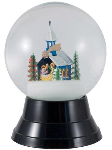 PR1741 Large Chapel Perzy Snow Globe from Vienna Austria
