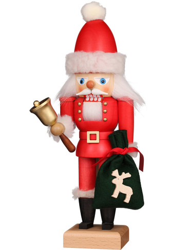 32-658 Ulbricht Santa with Bell Nutcracker