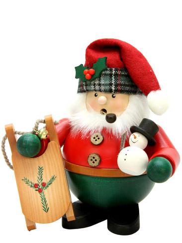 1-465 Santa with Sled Incense Burner Christian Ulbricht Smoker